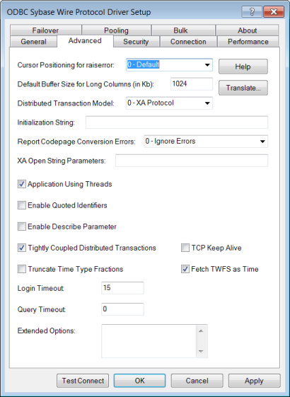DATADIRECT SYBASE DRIVER (2019)